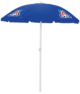 Picnic Time University of Arizona Sun Umbrella 5.5