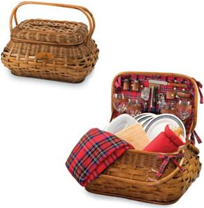 Picnic Time NFL Cleveland Browns Highlander Basket