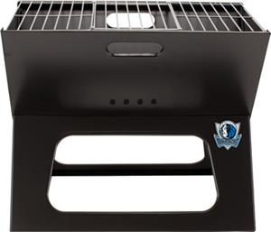 Picnic Time NBA Mavericks Charcoal X-Grill w/ Tote