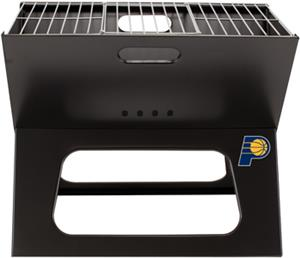 Picnic Time NBA Pacers Charcoal X-Grill with Tote