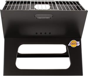 Picnic Time NBA LA Lakers Charcoal X-Grill w/ Tote