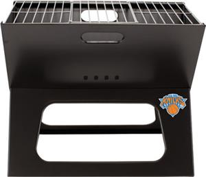 Picnic Time NBA Knicks Charcoal X-Grill with Tote