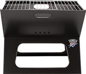 Picnic Time NBA Thunder Charcoal X-Grill with Tote