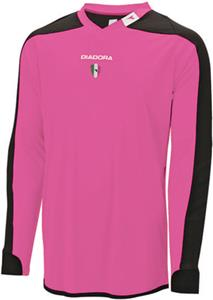 Diadora Enzo GK Goalkeeper Pink Soccer Jerseys