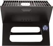 Picnic Time NBA Kings Charcoal X-Grill with Tote