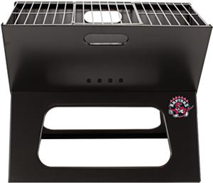 Picnic Time NBA Raptors Charcoal X-Grill with Tote
