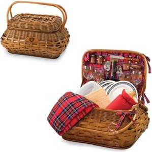 Picnic Time NFL Oakland Raiders Highlander Basket
