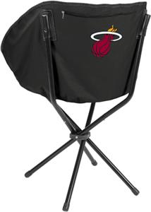 Picnic Time NBA Miami Heat Portable Sling Chair