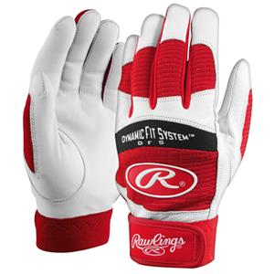 Rawlings Adult Dynamic Fit 355 Batting Gloves