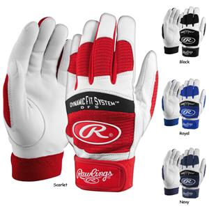 Rawlings Youth Dynamic Fit 355 Batting Gloves