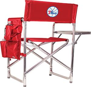 Picnic Time NBA 76ers Folding Sport Chair w/ Strap