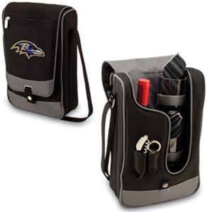 Picnic Time NFL Baltimore Ravens Wine Tote