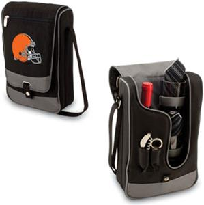 Picnic Time NFL Cleveland Browns Wine Tote