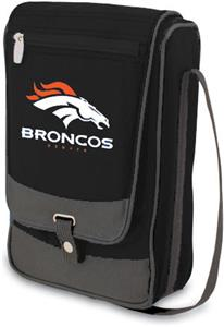Picnic Time NFL Denver Broncos Black Wine Tote