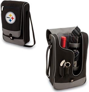 Picnic Time NFL Pittsburgh Steelers Wine Tote