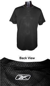 Reebok Polyester Mesh 2 Button Henley-Closeout
