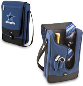 Picnic Time NFL Dallas Cowboys Wine Tote