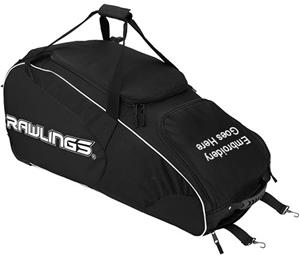 Rawlings Workhorse Wheeled Baseball Softball Bags