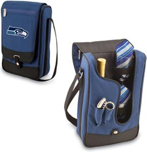Picnic Time NFL Seattle Seahawks Wine Tote