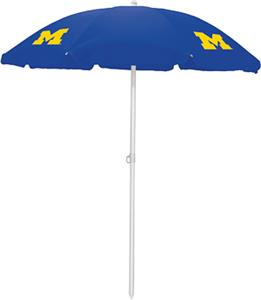 Picnic Time University of Michigan Sun Umbrella