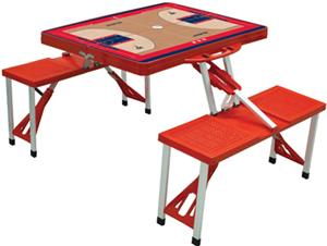 Picnic Time NBA Washington Wizards Picnic Table