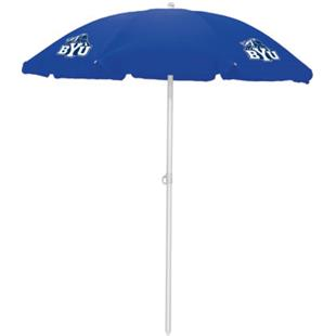 Picnic Time Brigham Young Cougars Sun Umbrella 5.5