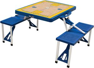 Picnic Time NBA Golden State Warriors Picnic Table