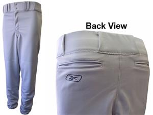 Reebok Poly Double Knit Baseball Pants-Closeout