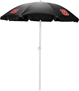 Picnic Time North Carolina State Sun Umbrella 5.5