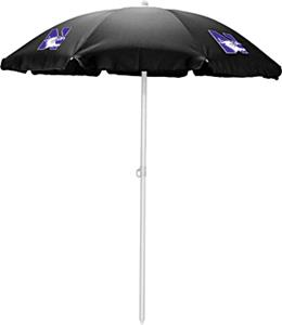 Picnic Time Northwestern Wildcats Sun Umbrella 5.5