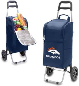 Picnic Time NFL Denver Broncos Cart Cooler