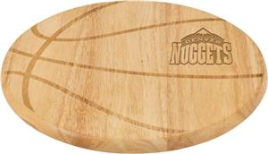 Picnic Time NBA Nuggets Basketball Cutting Board