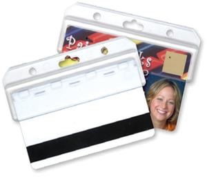 Cherokee Boojee Swipe Style Badge ID Holders - 6PK