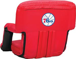Picnic Time NBA 76ers Ventura Recliner