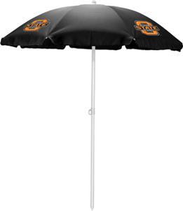 Picnic Time Oklahoma State Sun Umbrella 5.5