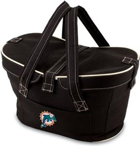 Picnic Time NFL Miami Dolphins Mercado Basket