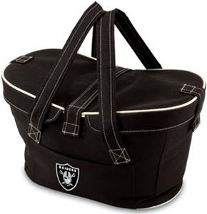 Picnic Time NFL Oakland Raiders Mercado Basket