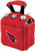 Picnic Time NFL Arizona Cardinals Six Pack Holder