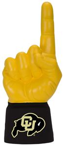 Foam Finger University of Colorado Combo