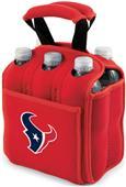 Picnic Time NFL Houston Texans Six Pack Holder