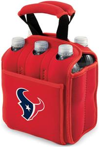 Picnic Time NFL Houston Texans Six Pack Holder