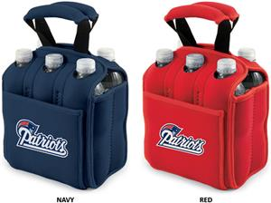 Picnic Time NFL New England Patriots 6 Pack Holder