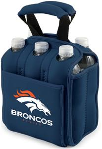 Picnic Time NFL Denver Broncos Six Pack Holder