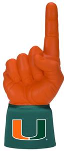 Foam Finger University of Miami Combo