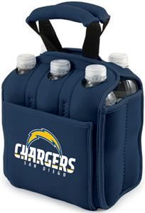 Picnic Time NFL San Diego Chargers Six Pack Holder