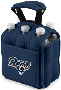 Picnic Time NFL St. Louis Rams Six Pack Holder