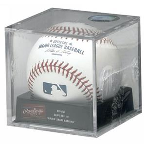Rawlings Official MLB Baseballs in Display Cubes