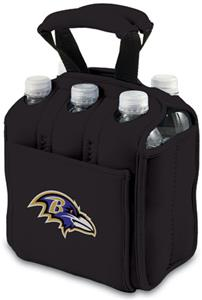 Picnic Time NFL Baltimore Ravens Six Pack Holder
