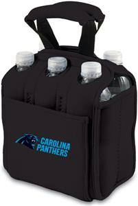 Picnic Time NFL Carolina Panthers Six Pack Holder