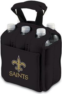 Picnic Time NFL New Orleans Saint Six Pack Holder